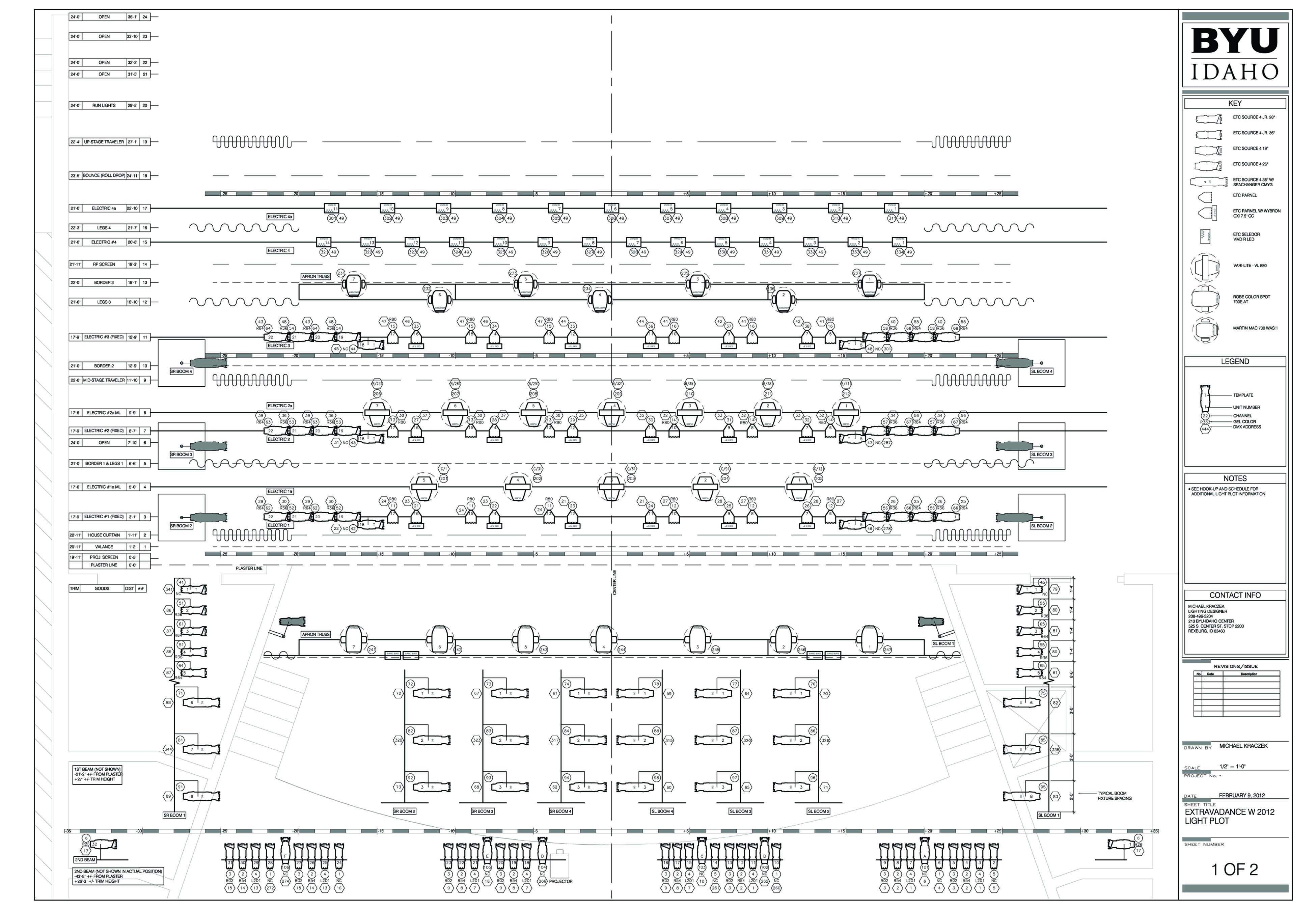 class schedule template pdf